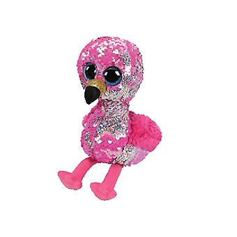 TY lisible Pinky rose Sequin Beanie Flamingo