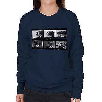 TV veces Beatles Lennon McCartney mostrar foto tira sudadera mujer