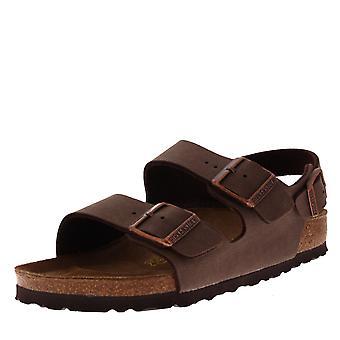 adf6155f20dd Womens Birkenstock Milano Birko-Flor Beach Holiday Summer Strappy Sandals