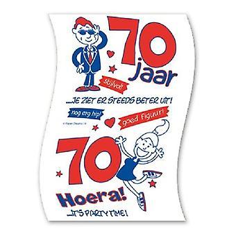 Toiletpapier 70jaar nr18