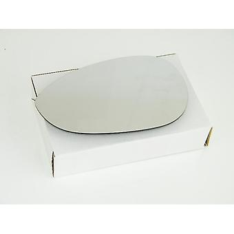 Left Mirror Glass (not heated) & Holder for FIAT PUNTO EVO 2009-2012