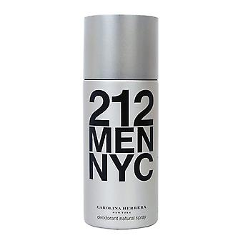 Carolina Herrera 212 homens desodorizante Spray 150 ml