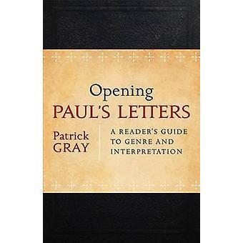 Lettere di Paolo - Guida di un lettore di genere e l'interpretazione di apertura