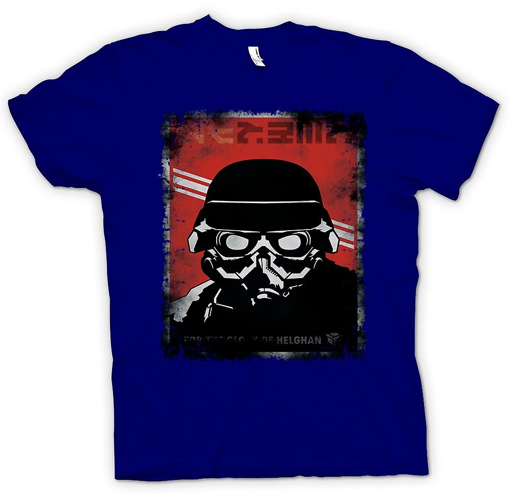 Hommes T-shirt - Kill Zone Helgan Gamer