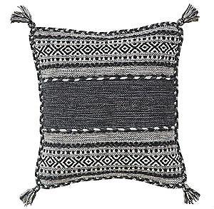 Kelim Charcoal  Cushion Rugs Modern Rugs