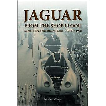 Jaguar from the shop floor - Foleshill Road and Browns Lane 1949 to 19