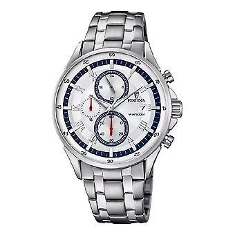 Festina - men's watch - F6853/1 - timeless chronograph - sports