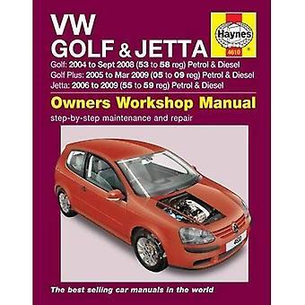 VW Golf & Jetta Service and Repair Manual (Haynes Service and Repair Manuals)