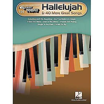 Hallelujah & 40 fler bra låtar: E-Z spela idag volym 104