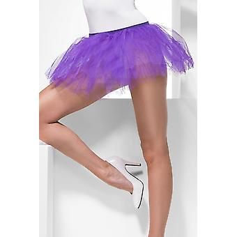 Womens Purple Tutu Underskirt  Fancy Dress Accessory