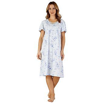 Slenderella ND3123 Women's Jersey Night Gown Loungewear Nightdress