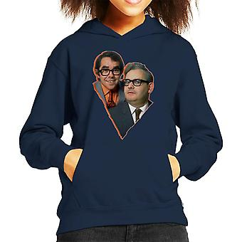 TV Times Two Ronnies Comedy Duo 1969 Kid's Hooded Sweatshirt