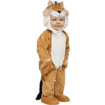 Streifenhörnchen Kleinkinder Kostüm