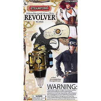 Steampunk Style Revolver