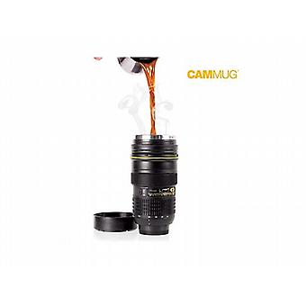 Camera Lens Thermos Cup