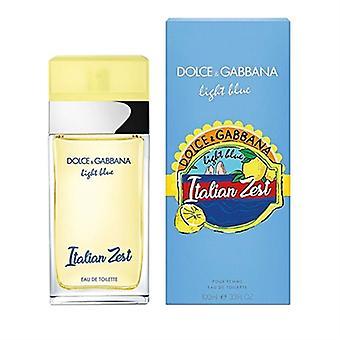 Light Blue Italian Zest by Dolce & Gabbana for Women 3.3oz Eau De Toilette Spray