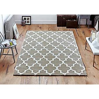 Arabesque Beige  Rectangle Rugs Plain/Nearly Plain Rugs