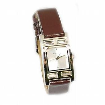Crystal Couture Brown Strap Ladies Fashion Watch WA066951