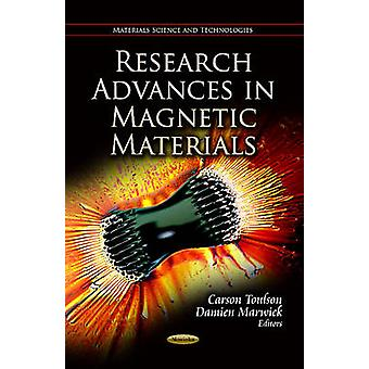 Research Advances in Magnetic Materials by Carson Toulson - Damien Ma