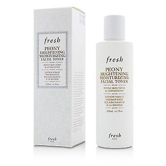 Fresh Peony Brightening Moisturizing Facial Toner - 200ml/6.7oz
