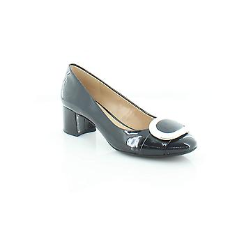 Michael Michael Kors Womens Pauline Leather Closed Toe Classic Pumps