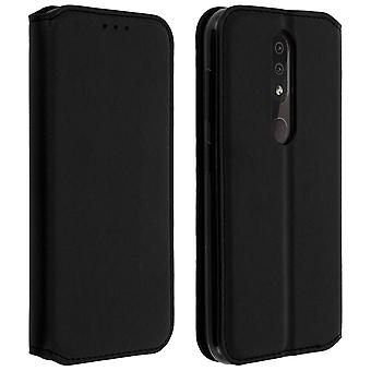Slim Case, Classic Edition stand case with card slot for Nokia 4.2 - Black