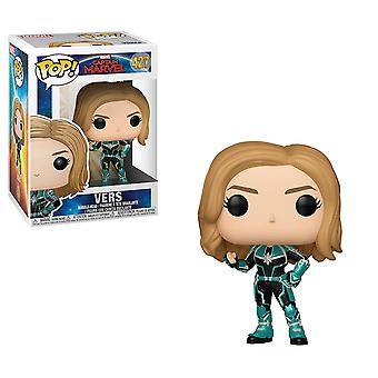 Funko 36342 POP Captain Marvel-Vers Collectible