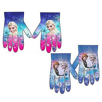 2er-Pack gefrorenen Frost Elsa Anna Camouflage Handschuhe Einheitsgröße