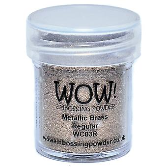 Wow! Embossing Powder 15Ml Brass Wow Wc03r