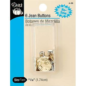 No Sew Jean Buttons 5 8