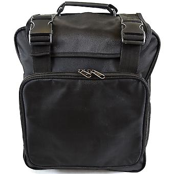 Mens / Ladies Work / Business / Travel Backpack / Rucksack Laptop Bag with Detachable Strap (Black)