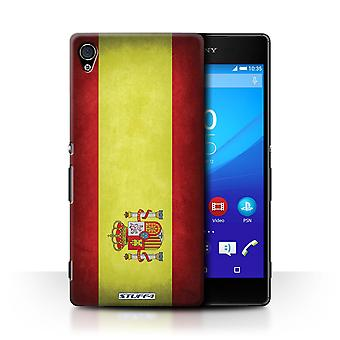 STUFF4 Case/Cover for Sony Xperia Z4v/E6508/Spain/Spanish/Flags