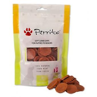 Perrito Soft Puppy Lamb Chips (Dogs , Treats , Chewy and Softer Treats)