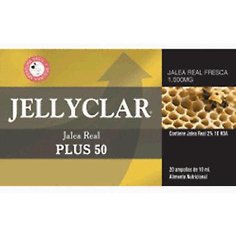Jellyclar Royal Jelly Plus 50 X 10 Ml 20A (Dietetics and nutrition , Vitality)