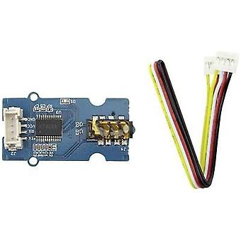 Seeed Studio Serial MP3 player SEN01300P UART, SD card slot, Jack socket 3.5 mm Compatible with: C-Control Duino, Grove