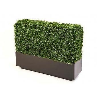Artificial Boxwood Hedge in Fibreglass Trough
