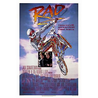Rad-Film-Plakat-Druck (27 x 40)