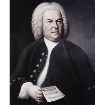 Johann Sebastian Bach Elias Gottlob Haussman Poster Print