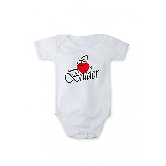 I love brothers in different languages rompers baby bodysuits