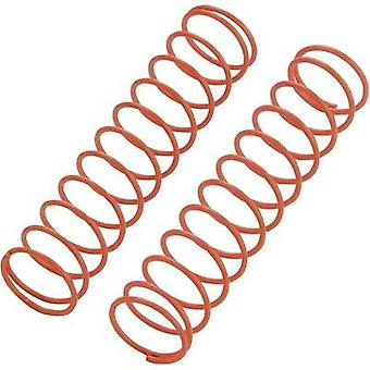 Reely 1:10 Shock absorber tuning spring Soft Orange 72.5 mm 2 pc(s)