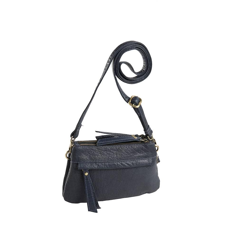 Dr Amsterdam Grain shoulder bag Blue