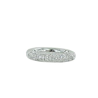 ESPRIT collection ladies ring silver zirconia Gr. 16 ELRG92431A160