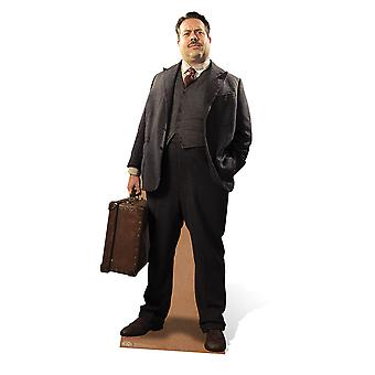Jacob Kowalski from Fantastic Beasts and Where to Find Them Lifesize Cardboard Cutout / Standee / Stand Up