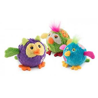 Bouncing Flower Birds Assorted Display Box Small 7cm (Pack of 12)