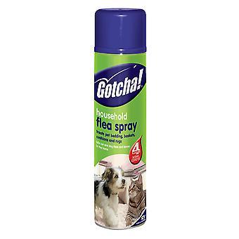 Nul i hjem loppe Spray 300ml (pakke med 6)