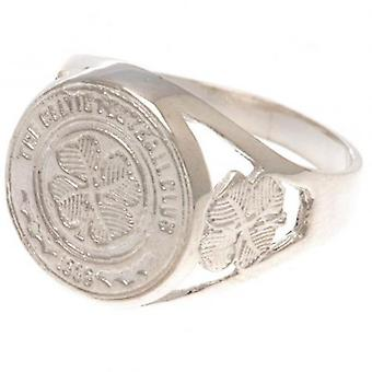 Celtic Sterling Silver Ring Small