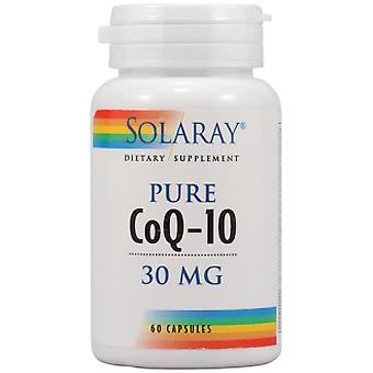 Solaray Pure Coenzyme Co Q-10 30 Capsules