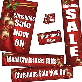 Christmas Sale Bundle Poster and Ticket Pack