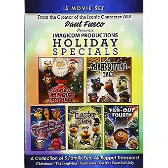 Paul Fusco præsenterer Imagicom Prod. Holiday Special [DVD] USA importerer