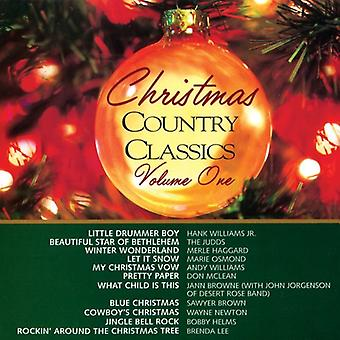 Christmas land klassikere - jul Country Classics: Vol. 1-Christmas land klasse [CD] USA import